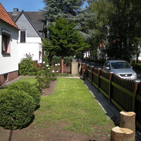 Tischler Isernhagen Projekt Zaun